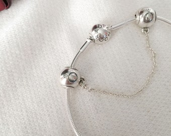 dc838d4b5 Authentic Pandora Essence Collection Safety Chain and/or Bracelet