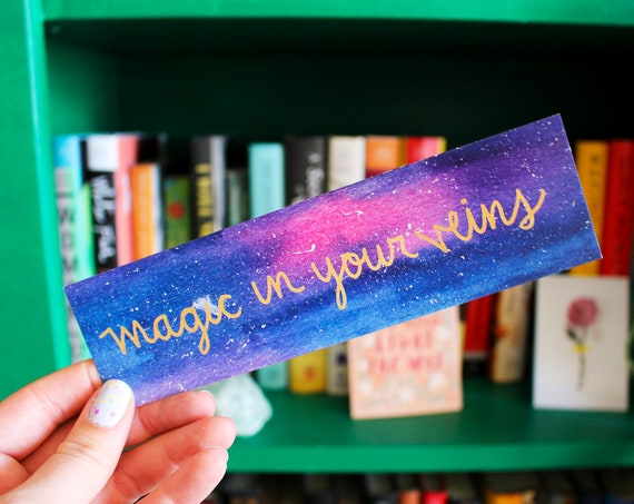 Magic in Your Veins Galaxy Bookmark