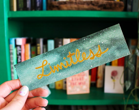 Limitless Galaxy Bookmark