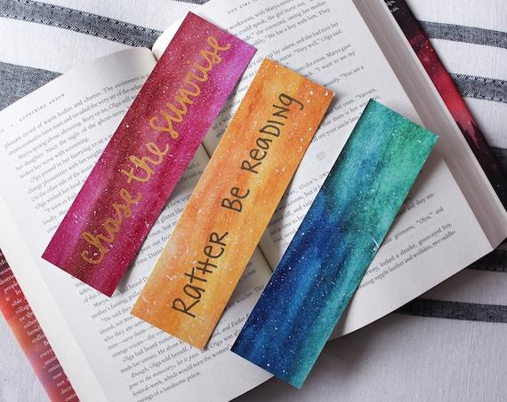 Sunrise Bookmark Bundle (3 Bookmarks)