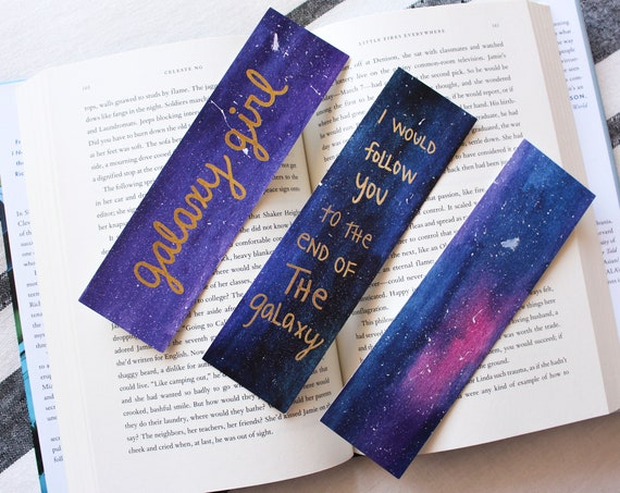 Galaxy Bookmark Bundle (3 Bookmarks)