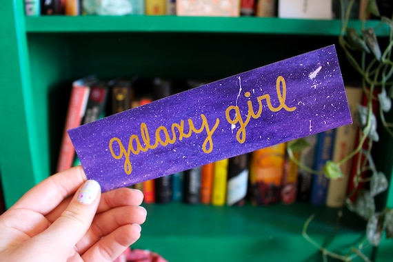 Galaxy Girl Bookmark