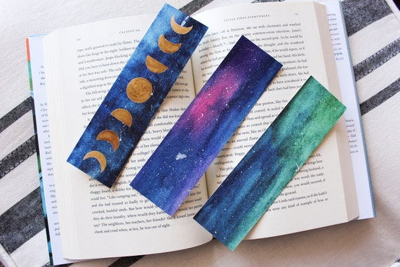 Moon Phase Bookmark Bundle (3 Bookmarks)