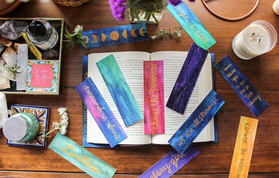 Make Your Own Bookmark Bundle (10 Bookmarks)