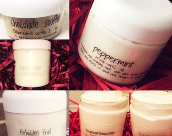 Whipped Body Frosting: Body Butter...Organic, All Natural, Dessert for the Skin from the PrettiFly Collection