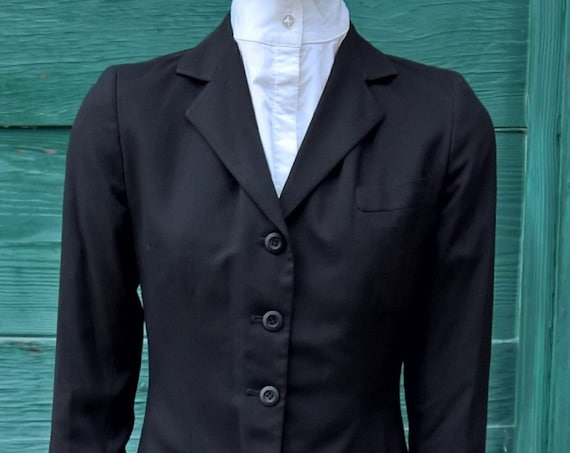 Vintage Riding Coat Brittany Riding Apparel Wool
