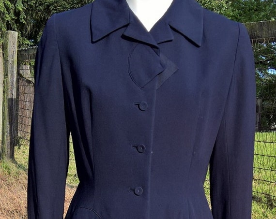 Vintage Ladies Riding Jacket 1940s Cropped Blum Store