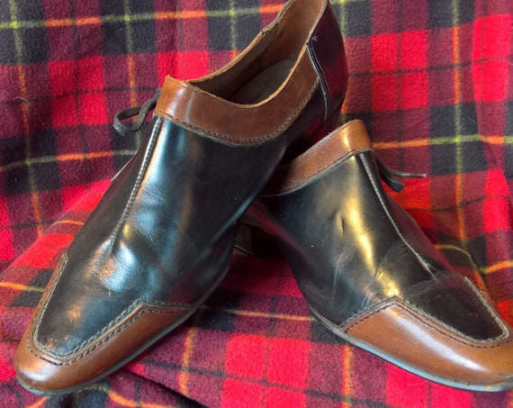 Vintage Mens Shoe Amon French Leather Club