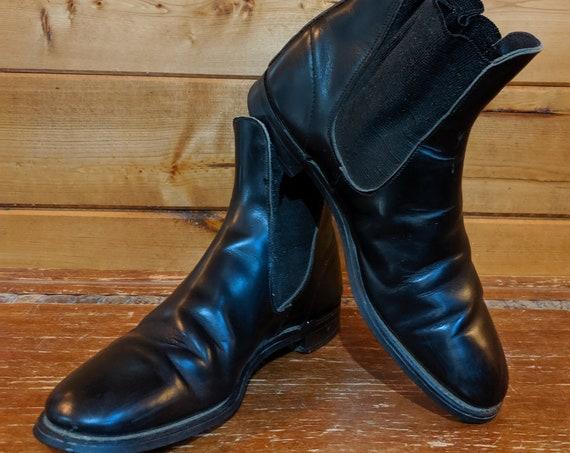 Vintage Smooth Leather English Jodhpur Boots