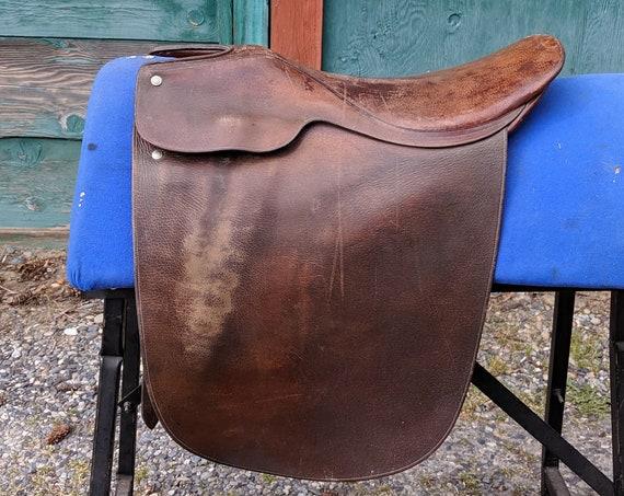 Vintage Saddle Crosby Cutback Lane Fox 302 1960s