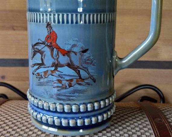 Vintage Stein Wade Fox Hunting Irish Porcelain