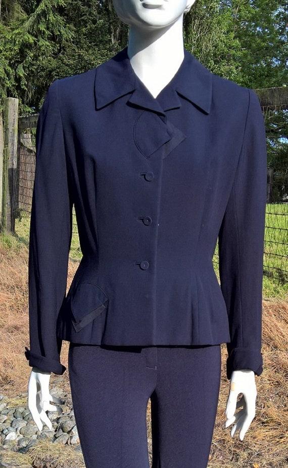 Vintage Ladies Riding Jacket 1940s Cropped Blum St
