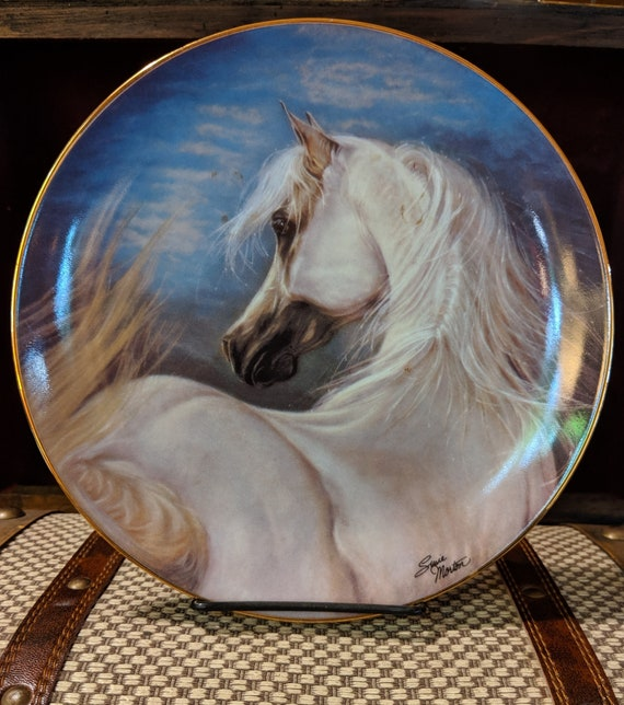"Vintage Plate ""Eternity Calls"" Noble and Free Susie Morton"