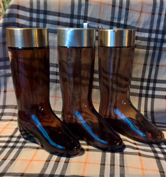 Vintage Decanters Avon Riding Boot Glass