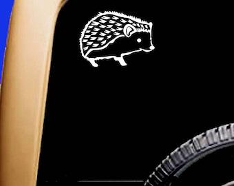 Hedgehog Vinyl Car Window Pet Vinyl Decal Sticker Original Design