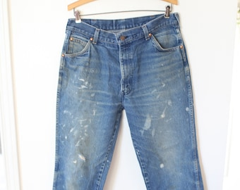 65d1b441e6e vintage distressed levis 557 straigt leg high rise jeans denim 32 34 *415