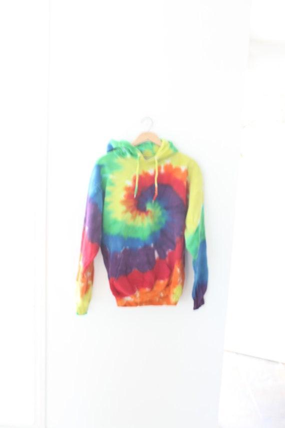 vintage tie dye  hoodie sweatshirt #0586