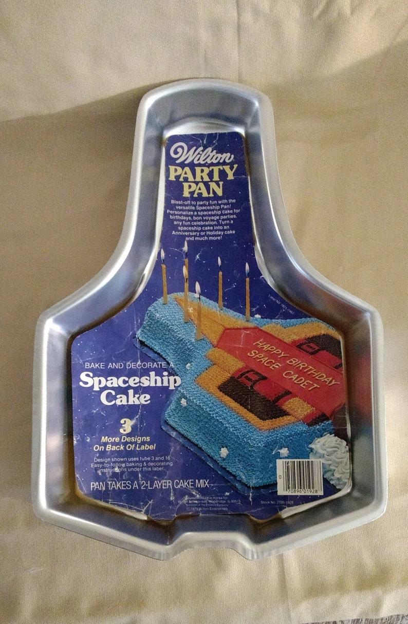 1979 Wilton Spaceship Cake Pan