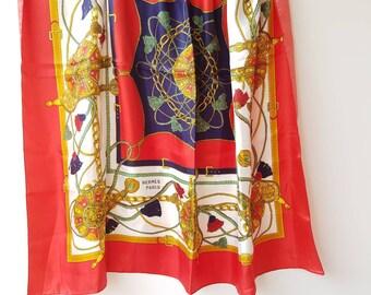 Écharpe de taffeta, des années 1950 foulard, foulard fleuri rose, Floral  foulard, écharpe Vintage, ... 75b01a5ad1b