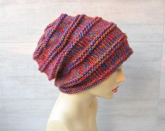 056217c1fb01 Bonnet rose, bonnet en hiver reste, Cool chapeau pour dreadlocks, bonnet  tricoté en hipster, chapeau d hiver pour femmes, accessoires de tricot pour  les ...