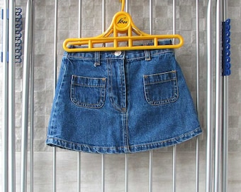vintage Jeans baby skirt 2 - 3 yrs