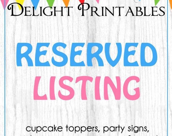 Custom Printable Editable Sign