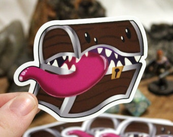 Mimic Sticker - Cute Monster - Waterproof Vinyl Stickers