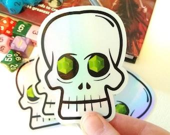 Demi Lich Sticker - Holographic Waterproof Vinyl DnD Stickers
