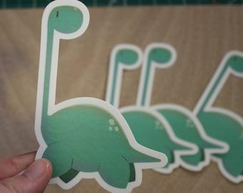 Lake Monster Sticker - Waterproof Vinyl