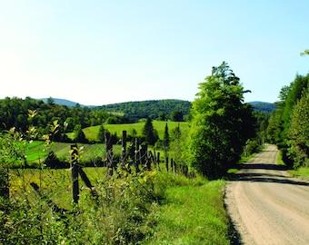Photo Print - Vermont Courntry Road