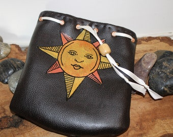 Sun Bro Pouch - Dice Bag of Holding - Free d20