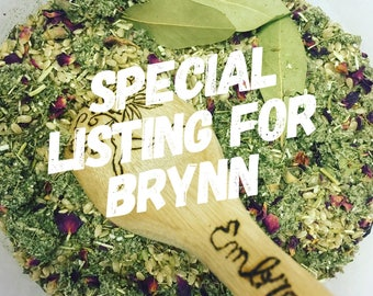 Reserved for Brynn