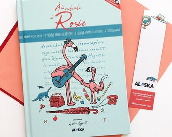 Children's book, picture book, seek and find book: A la recherche de Rosie