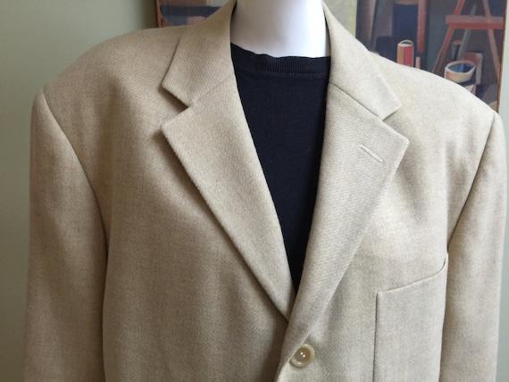 Vintage Zegna Designer 1950s Style Sport Coat - Sa