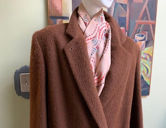 Luxurious Vintage 80s Perry Ellis Women's Overcoat