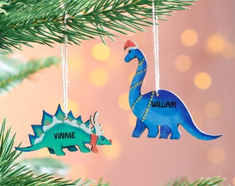 Personalised Dinosaur Decoration