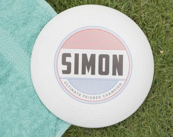 Personalised Retro Name Frisbee