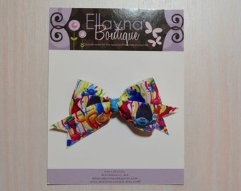 Boutique Style Hair Bow - Trolls 2