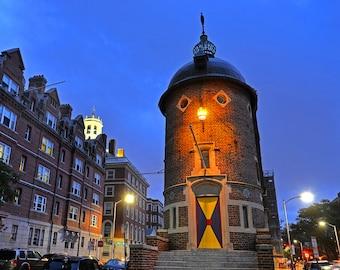 The Harvard Lampoon Building in Harvard Square, Cambridge, MA, Massachusetts, Harvard Square, Mount Auburn Street, Mt Auburn Street