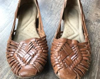 94f7724253ac0 Vintage sandals   Etsy