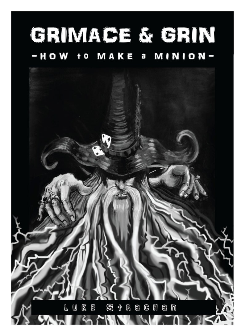 Graphic Novel: Grimace & Grin  How to Make a Minion image 0