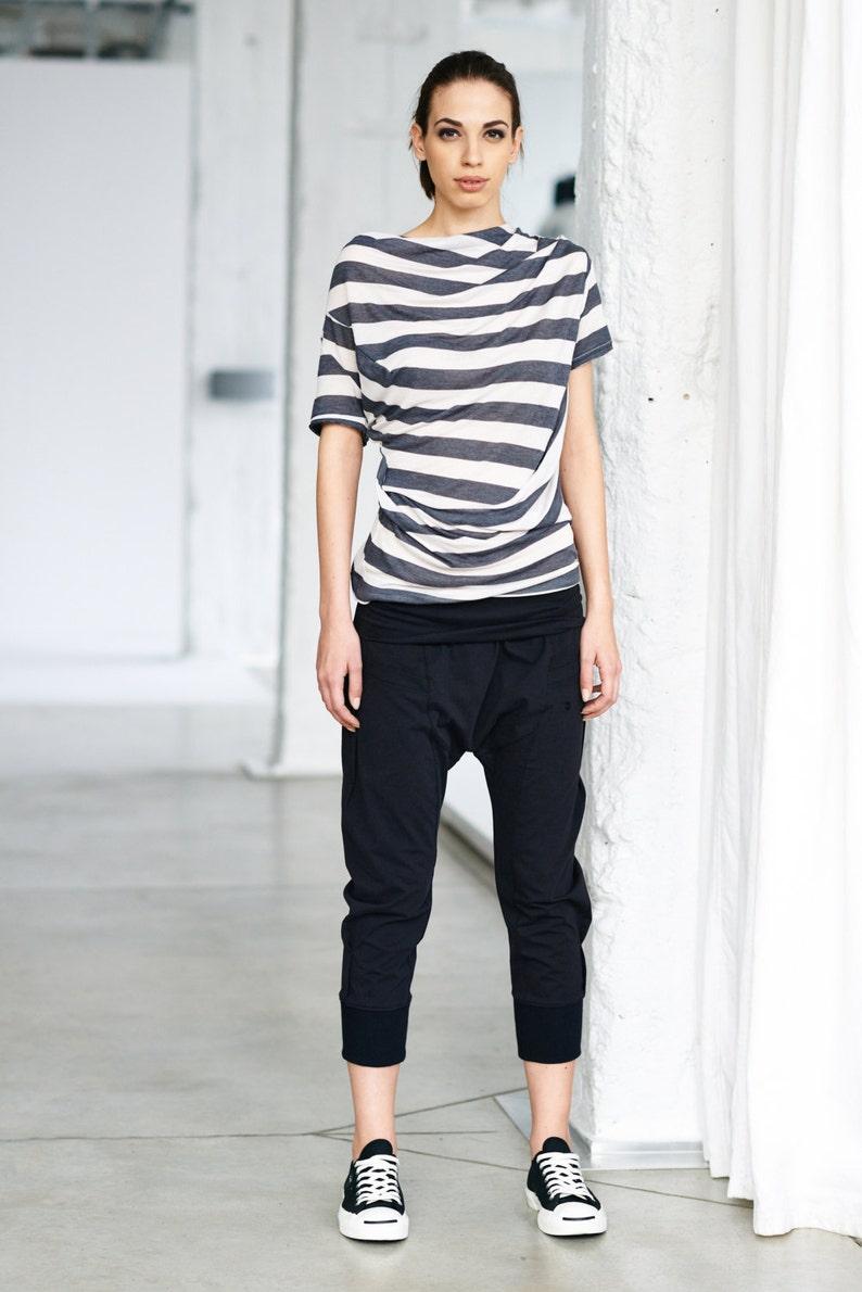 ff4e0194c2 Arya Yoga Pants/ Black Drop Crotch Pants/ Yoga Clothes/ | Etsy
