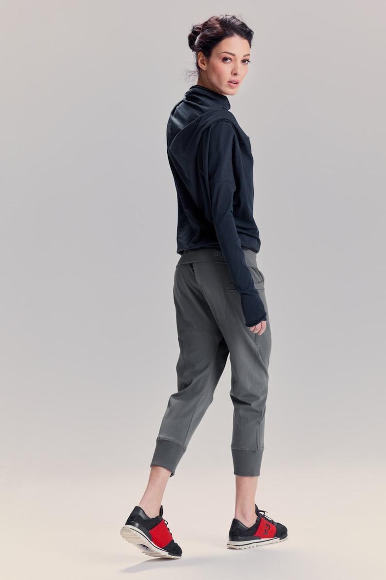 19ca6c7238aa8e Arya Yoga Pants/ Military Green Drop Crotch Pants/ Yoga | Etsy