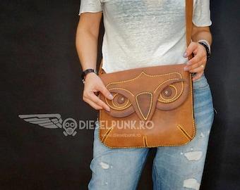 Steampunk Bag Leather Bag Hand made Bag Messenger Bag   Etsy