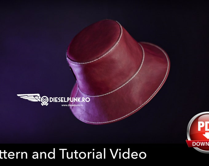 Bucket Hat PATTERN - Fishing Hat - Beanie Hat Pattern - Video Tutorial