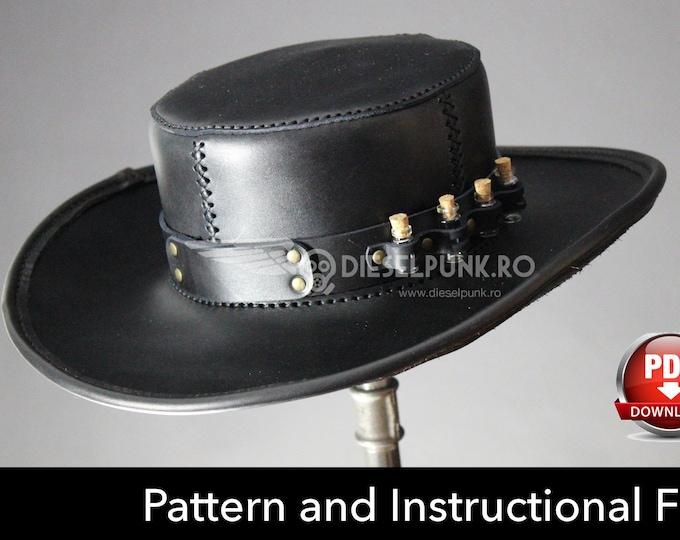 Plague Doctor Hat PATTERN - DIY Hat - Pdf Download