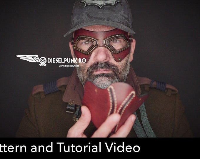 Aviator Goggles Pattern - Cosplay DIY - Pdf Download