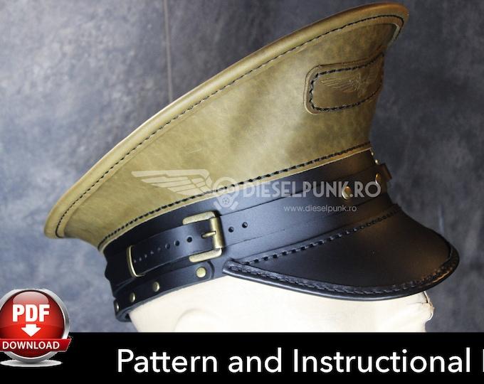 Army Hat PATTERN - DIY Hat - Pdf Download