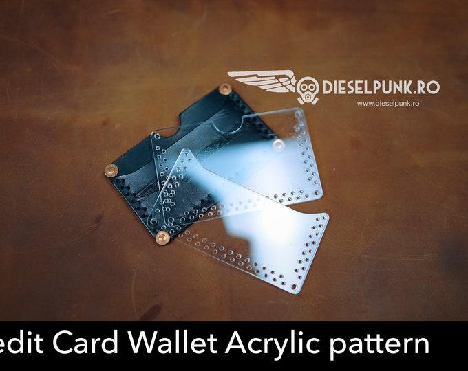 Card Holder acrylic templates - Acrylic pattern - laser cut pattern - Card Holder pattern
