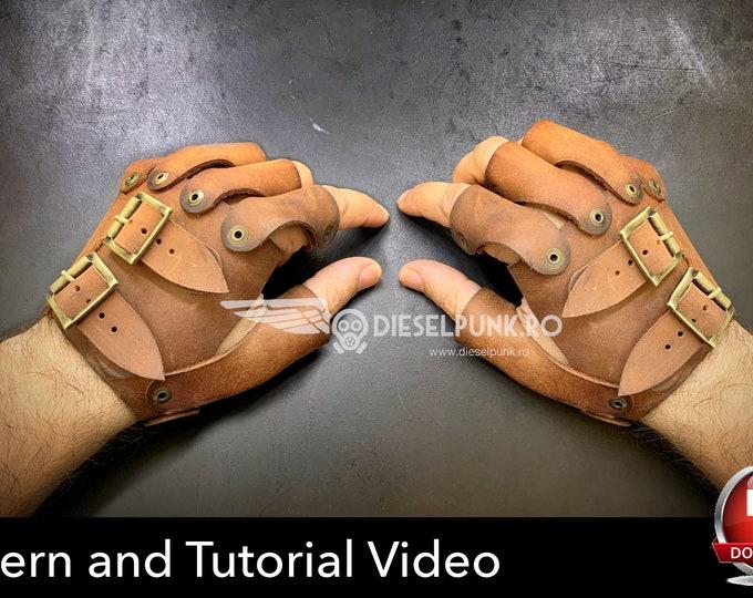 Gloves Pattern - Cosplay DIY - Pdf Download